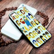 Simpsons Alphabet on your case iphone 4 4s 5 5s 5c 6 6plus 7 case / cases