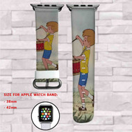 Christopher Robin Winnie The Pooh Custom Apple Watch Band Leather Strap Wrist Band Replacement 38mm 42mm