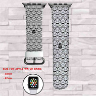 Darth Vader Stormtroopers Star Wars Custom Apple Watch Band Leather Strap Wrist Band Replacement 38mm 42mm