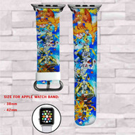 Digimon Adventure Tri Custom Apple Watch Band Leather Strap Wrist Band Replacement 38mm 42mm