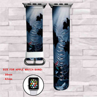 Disney The Little Mermaid Custom Apple Watch Band Leather Strap Wrist Band Replacement 38mm 42mm