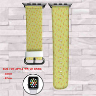 Dragon Ball STar Custom Apple Watch Band Leather Strap Wrist Band Replacement 38mm 42mm