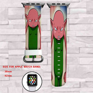 Dragon Ball Super Monaka Custom Apple Watch Band Leather Strap Wrist Band Replacement 38mm 42mm