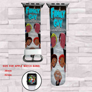 Family Guy Season Fourteen Custom Apple Watch Band Leather Strap Wrist Band Replacement 38mm 42mm
