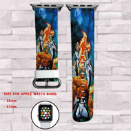 Fantastic Four Marvel Custom Apple Watch Band Leather Strap Wrist Band Replacement 38mm 42mm