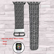 Heineken Collage Beer Custom Apple Watch Band Leather Strap Wrist Band Replacement 38mm 42mm