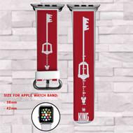 Kingdom Hearts Custom Apple Watch Band Leather Strap Wrist Band Replacement 38mm 42mm
