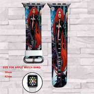 Medusa Marvel Custom Apple Watch Band Leather Strap Wrist Band Replacement 38mm 42mm