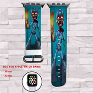 Megaman Zombie Custom Apple Watch Band Leather Strap Wrist Band Replacement 38mm 42mm