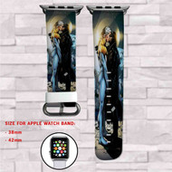 Midnighter and Apollo Kiss DC Comics Custom Apple Watch Band Leather Strap Wrist Band Replacement 38mm 42mm