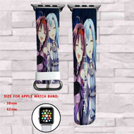 Asuna and Sinon Sword Art Online Custom Apple Watch Band Leather Strap Wrist Band Replacement 38mm 42mm