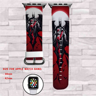 Batman and Harley Quinn DC Comics Custom Apple Watch Band Leather Strap Wrist Band Replacement 38mm 42mm