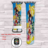 Beautiful Sailor Moon Custom Apple Watch Band Leather Strap Wrist Band Replacement 38mm 42mm