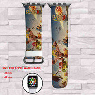 Clash of Clans Custom Apple Watch Band Leather Strap Wrist Band Replacement 38mm 42mm