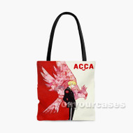 ACCA 13 ku Kansatsu ka Custom Personalized Tote Bag Polyester with Small Medium Large Size