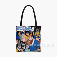 Action Bronson Blue Chips Custom Personalized Tote Bag Polyester with Small Medium Large Size