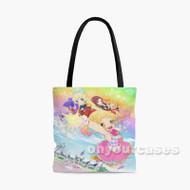 Aikatsu Stars Custom Personalized Tote Bag Polyester with Small Medium Large Size