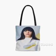 Aimyon Marigold Custom Personalized Tote Bag Polyester with Small Medium Large Size