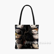 Ajin Custom Personalized Tote Bag Polyester with Small Medium Large Size