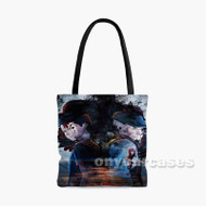 Ajin Part 3 Shougeki Custom Personalized Tote Bag Polyester with Small Medium Large Size