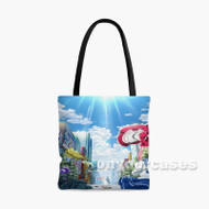 Akiba s Trip The Animation 2 Custom Personalized Tote Bag Polyester with Small Medium Large Size