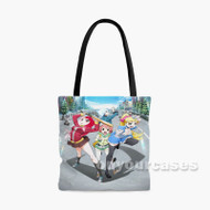 Akiba s Trip The Animation Custom Personalized Tote Bag Polyester with Small Medium Large Size