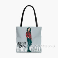 Alessia Cara Custom Personalized Tote Bag Polyester with Small Medium Large Size