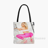 Alexis Texas Custom Personalized Tote Bag Polyester with Small Medium Large Size