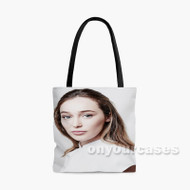 Alycia Debnam Carey Custom Personalized Tote Bag Polyester with Small Medium Large Size