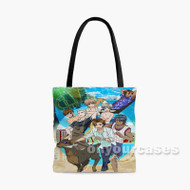 Ameiro Cocoa in Hawaii Custom Personalized Tote Bag Polyester with Small Medium Large Size