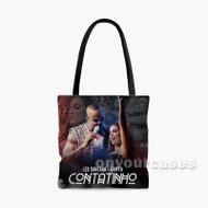 Anitta L o Santana Contatinho Custom Personalized Tote Bag Polyester with Small Medium Large Size