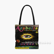 Arabella Arctic Monkeys Custom Personalized Tote Bag Polyester with Small Medium Large Size