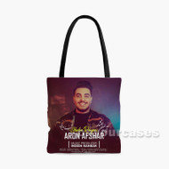 Aron Afshar Shabe Royaei Custom Personalized Tote Bag Polyester with Small Medium Large Size