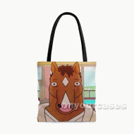 Bo Jack Horseman Custom Personalized Tote Bag Polyester with Small Medium Large Size
