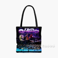 Heart Live At The Royal Albert Hall With The Royal Custom Personalized Tote Bag Polyester with Small Medium Large Size