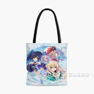 Hyperdimension Neptunia 2 Custom Personalized Tote Bag Polyester with Small Medium Large Size