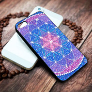 Starry Flower of Life on your case iphone 4 4s 5 5s 5c 6 6plus 7 case / cases