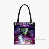 Regular Show THe Movie Custom Personalized Tote Bag Polyester with Small Medium Large Size