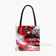Ruby Rose Rwby Custom Personalized Tote Bag Polyester with Small Medium Large Size