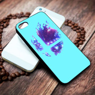 Super Smash Bros Logo Blue on your case iphone 4 4s 5 5s 5c 6 6plus 7 case / cases