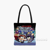 South Park The Fractured but Whole Custom Personalized Tote Bag Polyester with Small Medium Large Size