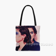 Tegan and Sara G Stop Desire Custom Personalized Tote Bag Polyester with Small Medium Large Size