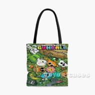 The Amazing World of Gumball Custom Personalized Tote Bag Polyester with Small Medium Large Size