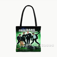 The Big Bang Theory Custom Personalized Tote Bag Polyester with Small Medium Large Size