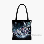 Trinity Seven Movie Eternity Library to Alchemic Girl Custom Personalized Tote Bag Polyester with Small Medium Large Size