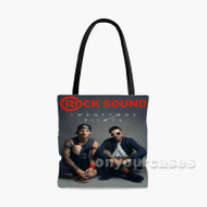 Twenty One Pilots Rock Sound Custom Personalized Tote Bag Polyester with Small Medium Large Size