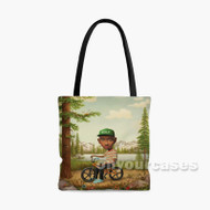 Tyler the Creator Wolf Custom Personalized Tote Bag Polyester with Small Medium Large Size