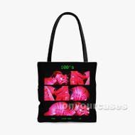 100s Tyga Feat Chief Keef AE Custom Personalized Tote Bag Polyester with Small Medium Large Size