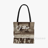 2 Chainz It s A Vibe feat Ty Dolla Sign Trey Songz Jhene Aiko Custom Personalized Tote Bag Polyeste with Small Medium Large Size