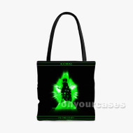 A Chal To The Light Custom Personalized Tote Bag Polyester with Small Medium Large Size